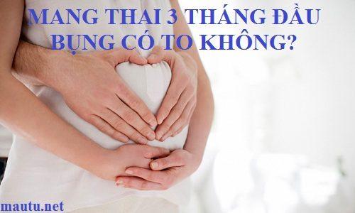 3-thang-dau-mang-thai-bung-co-to-khong