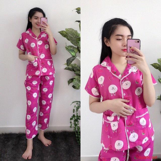 me-sau-sinh-nen-mac-do-pyjama-kieu-gi